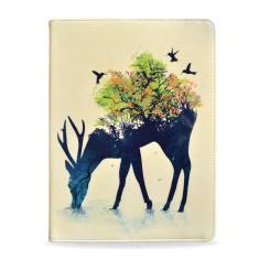Watering Deer iPad Tablet Folio Case