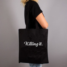 Killing It Quote Tote Bag