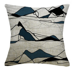 Alpes Maritimes cushion cover