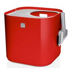 Modkat litter box in red