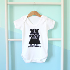 Darth Vader Babygrow Or T Shirt