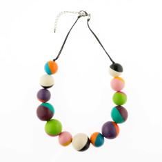 Wonderland 2 Tone Short Necklace