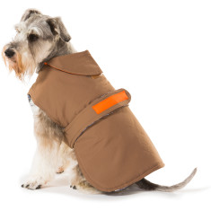 Earth brown dog coat
