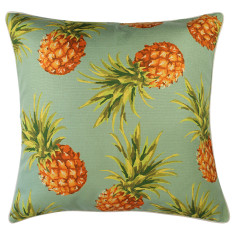 Outdoor Cushion Pineapples Lagoon (various sizes)