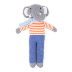 Weegoamigo Elephant Knit Toy