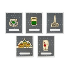 iconic Melbourne cards (pack of 5)