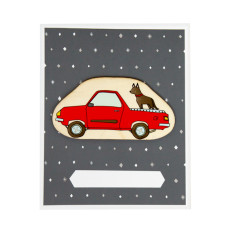 Iconic ute and dog card and envelope