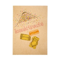 Iconic treats notebook