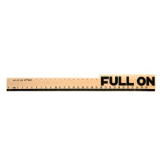 Iconic wooden full on ruler