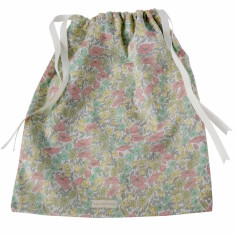 Liberty print nappy bag
