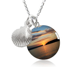 Balmoral beach sunrise necklace