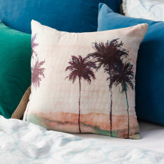 Paradise Palm Cushion