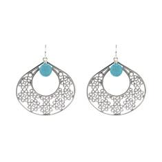 Blue Casablanca earrings
