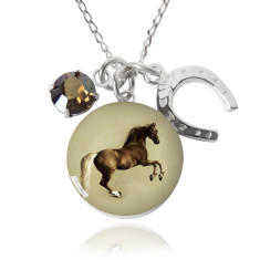 Whistlejacket charm necklace