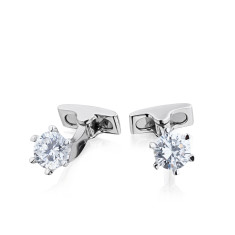 Solitaire cufflinks