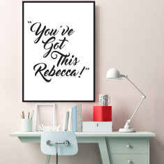 Custom you've got this art print (more colours & sizes)