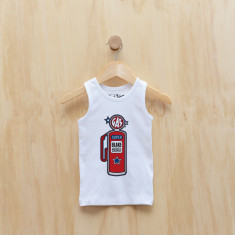 Personalised petrol pump singlet