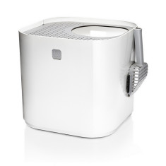 Modkat litter box in white.