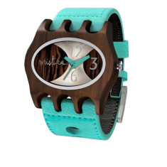 Kamera watch in turquoise