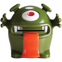Money monster electronic money box in green