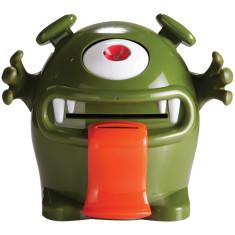 Money monster electronic money box in green