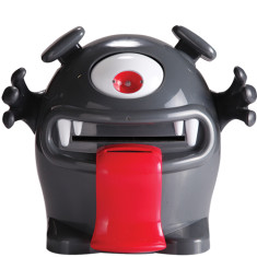 Money monster electronic money box in grey