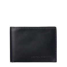 Felix leather wallet in black