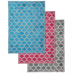 Moroccan cowhide rug
