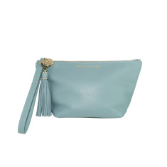 The Ani flat bottom pouch - light blue