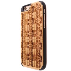 Mosaic bamboo iPhone 6/6S case