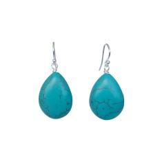 Turquoise Droplet Earrings