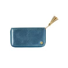 Blue Metallic Wallet
