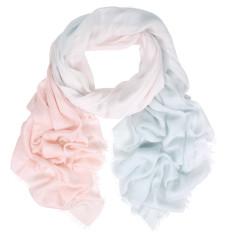 Koko cotton modal ombre wrap scarf (various colours)