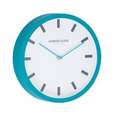 London Clock Company Pop Teal Silent Wall Clock