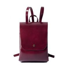 Leather Weekender Backpack