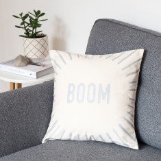 Boom Metallic Cushion Cover