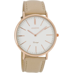 Slimline rose gold watch (various colours)