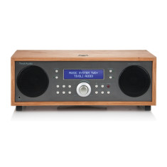Music system two+ bluetooth hifi system in taupe cherry