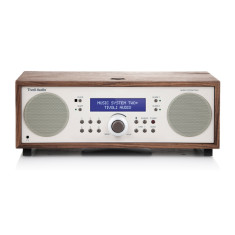 Music system two+ bluetooth hifi system in classic walnut