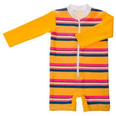 Baby sunsuit for girls in Sunshine (various colours)