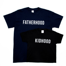 Dad And Me Fatherhood Kidhood T Shirt Set