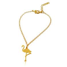 Tiny Flamingo Bracelet