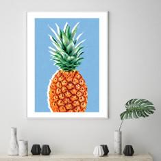 Pineapple pop art print