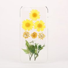 Mixed real flower & leaf phone case for iPhone & Samsung