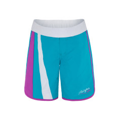 Girls' UPF 50+ aztec long boardshort
