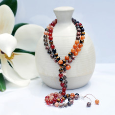 I love chakras sacral chakra mala beads for growth & fertility