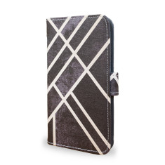 Art Deco Black Smartphone Wallet Case