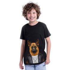 German Shepherd kid's tee