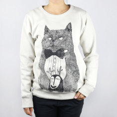 Cat & monster unisex jumper
