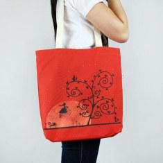 Moondawn tote bag